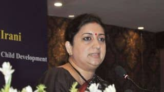 Uttar Pradesh: FIR Filed Over Alleged Illegal Use of Smriti Irani's Picture by Developer