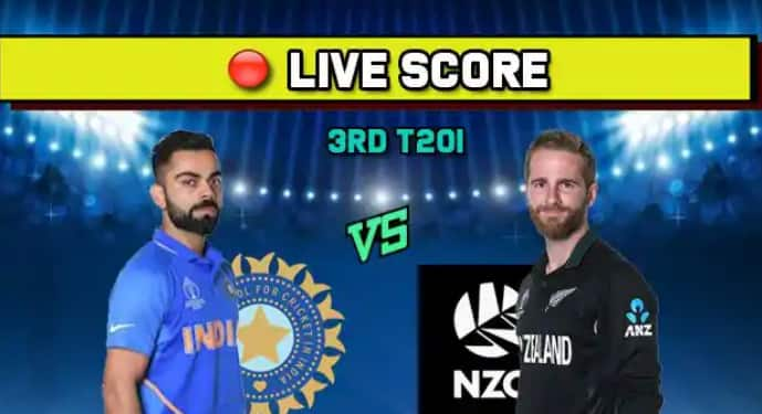 IND vs NZ Live cricket score India vs New Zealand, 3rd T20I, Hamilton, January 29 Match
