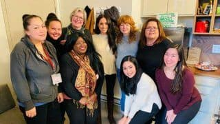 Meghan Markle Makes First Public Appearance after Stepping Back From Royal Duties