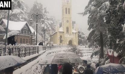 Heavy Snowfall in Himachal Pradesh: Tourists Advised Not to Visit Shimla, Manali