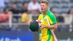 'Overwhelmed' Warner Happy With Positive Response From South Africa Crowd