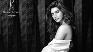 Kriti Sanon's Sultry Look in Sheer White Shirt For Dabboo Ratnani's Calendar 2020 is Hotness Personified