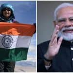PM Modi Lauds 12-Year-Old Kamya Karthikeyan For Scaling Mount Aconcagua in South America