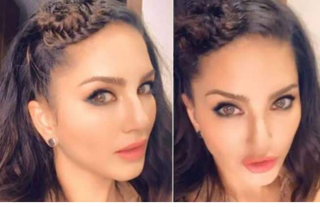 Sunny Leone's Hair Game is on Point as She Makes a Side Bun For Chic Look