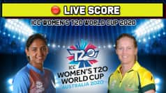 Live: IND vs AUS, Women's T20 World Cup: Big Blow For India As Top Three Depart in Quick Succession