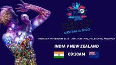 India vs New Zealand, IN-W vs NZ-W, ICC Women's T20 World Cup 2020 2020 Live streaming