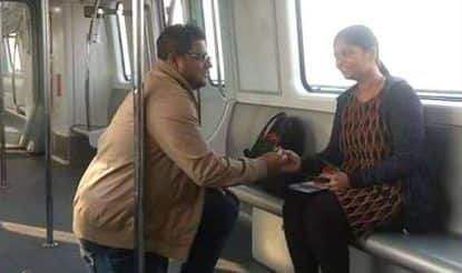 Man Proposes to Girlfriend Inside Kolkata Metro as East West Project Gets Its Debut Run on Valentine's Day