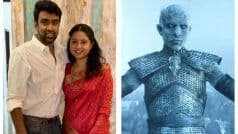 How About a Re-Run of Game of Thrones?: Ravichandran Ashwin