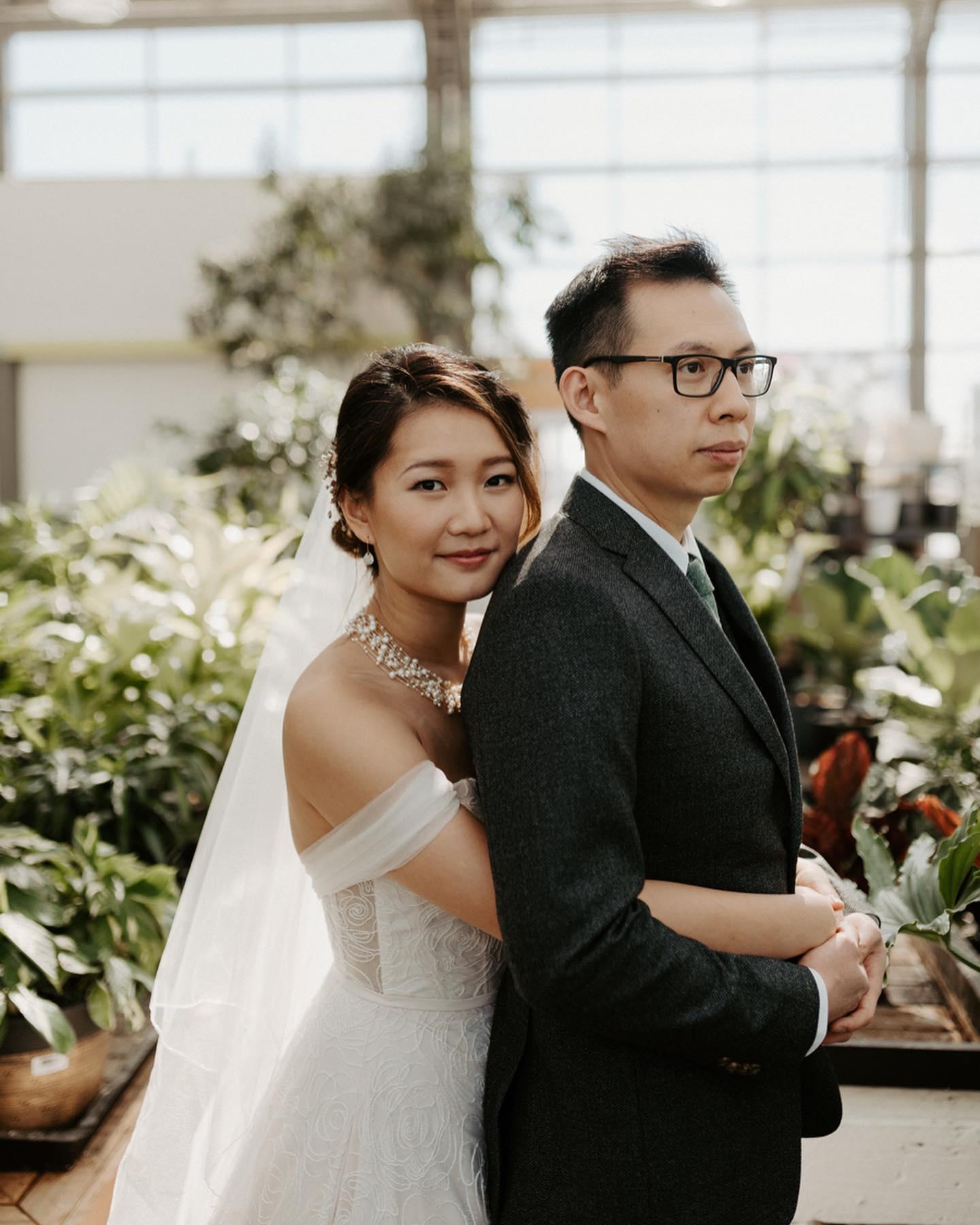Molly Lin and Sing-Chi Lam