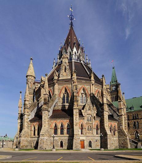 Canada, Sleeping Giant, Niagara Falls, Library of Parliament, Mount Thor, Canadian Rockies