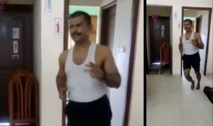 Kerala Man Runs a 42-km Marathon in His Flat to Prove Lockdown Can't Stop One From Staying Fit