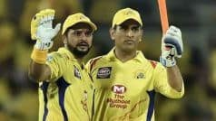 Dhoni Equals Raina, Becomes Most Capped IPL Player Ever