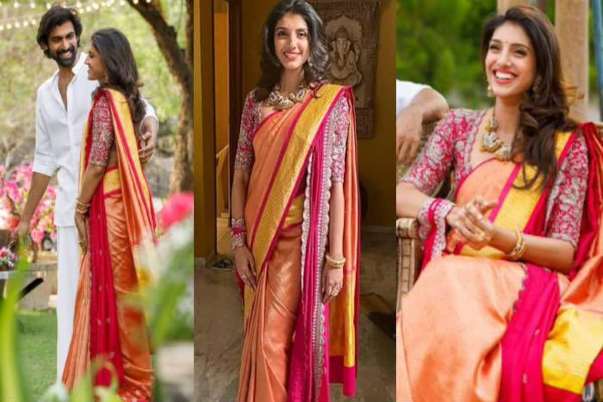 Rana Daggubati's Fiancee Miheeka Bajaj's Roka Look Decoded: Silk ...