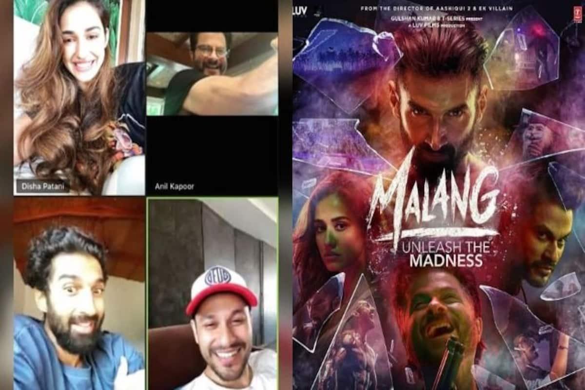 Disha Patani Reunites With Her Favourite Malang Boys Anil Kapoor Aditya Roy Kapur Kunal Kemmu India Com