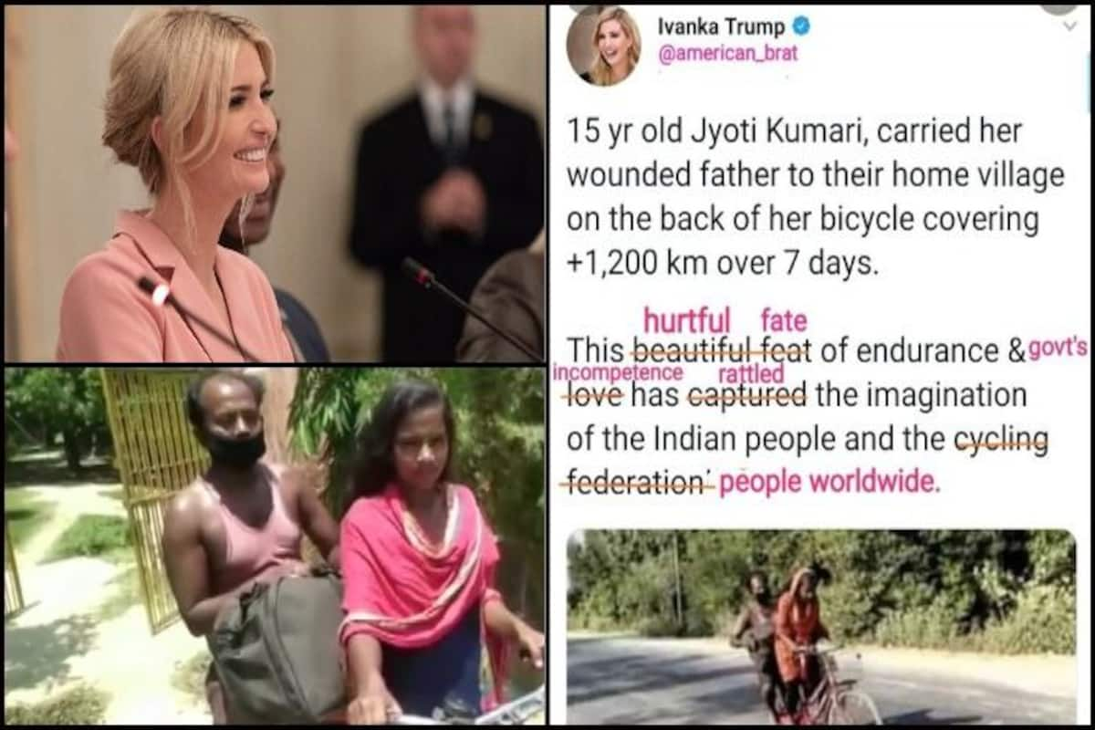 Twitter Brutally Trolls Ivanka Trump S Tweet Glorifying Migrant Workers Poverty And Helplessness Amid Covid 19 As Beautiful Feat India Com