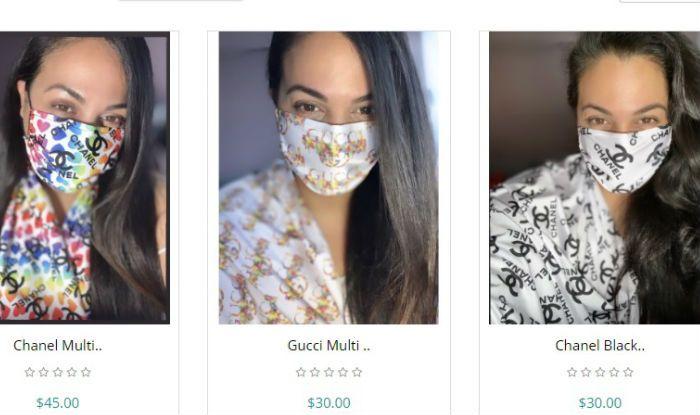 Designer expensive masks