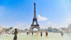Eiffel Tower in Paris Re-opens to Visitors After Three-month Closure Due to COVID-19 Pandemic