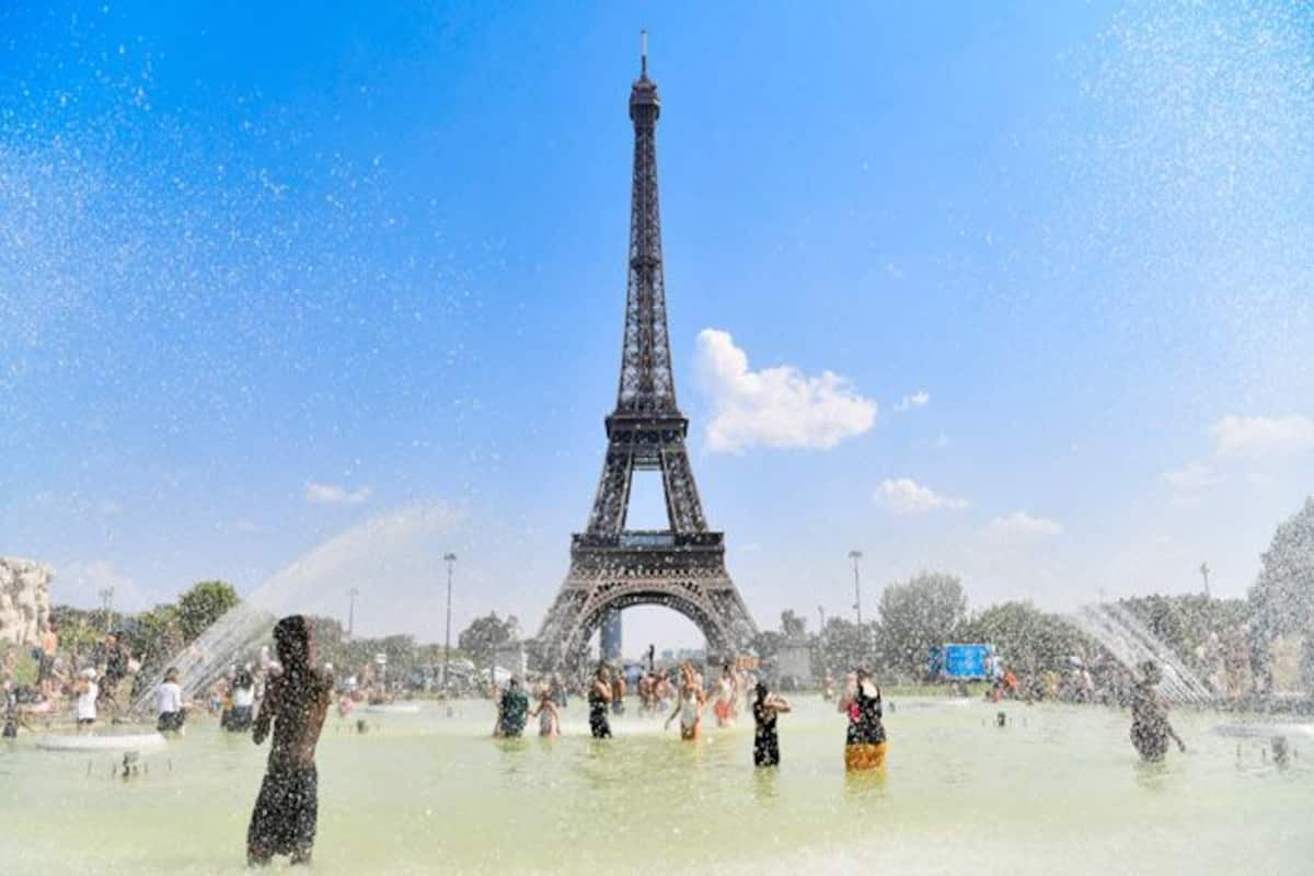 Eiffel Tower In Paris Re Opens To Visitors After Three Month Closure Due To Covid 19 Pandemic