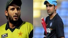 'Catch up And Talk it Out': Waqar Younis' Interesting Suggestion to Afridi and Gambhir