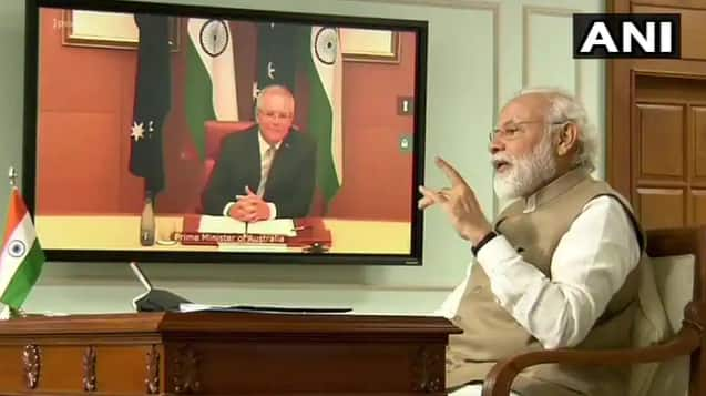 Watch LIVE: PM Modi Attends Online Summit With Australian PM Scott Morrison