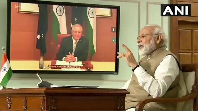 Watch LIVE: PM Modi Attends Online Summit With Australian PM Scott Morrison