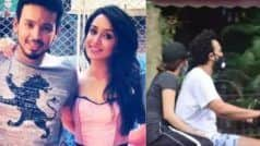 Shraddha Kapoor Hides Face as Paps Spot Her Enjoying Scooty Ride With Rumoured Boyfriend Rohan Shreshta – WATCH
