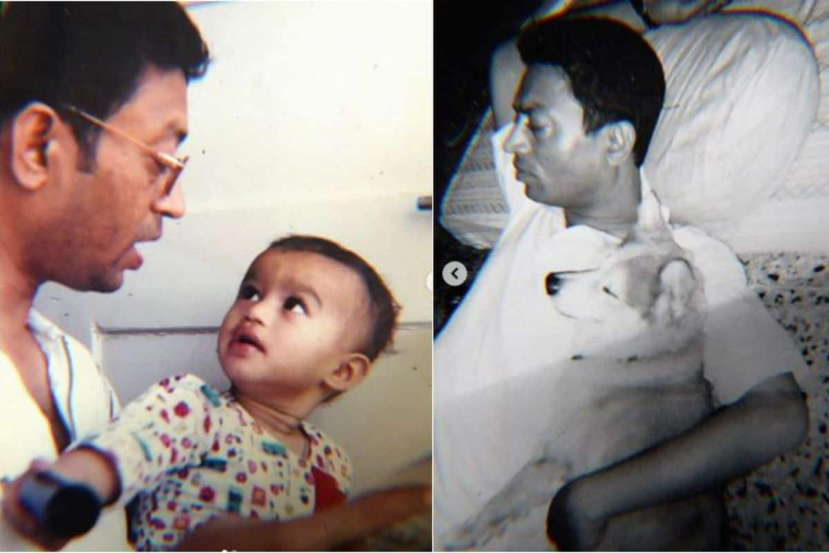 Irrfan Khan's Son Babil Khan Shares Unseen Pics of Actor, Slams Bollywood  For All These Reasons | India.com