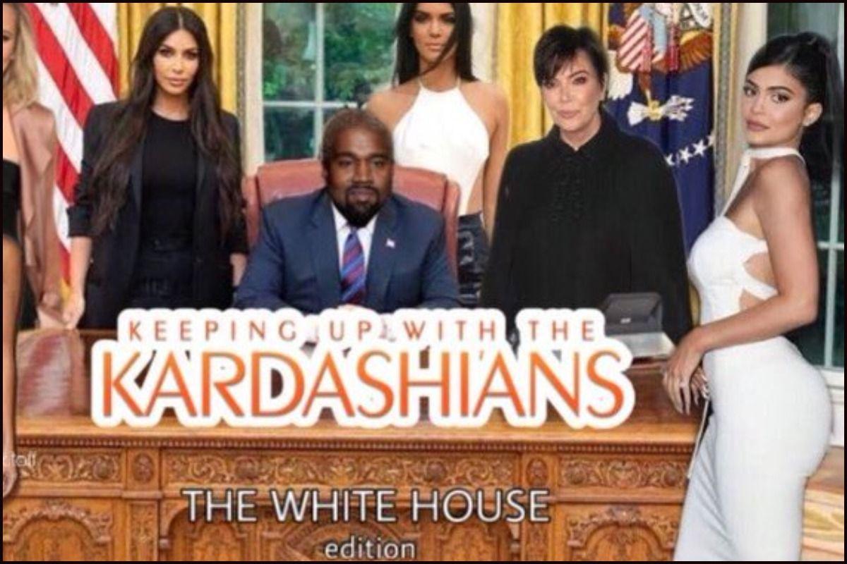 Семейство Кардашьян в Белом доме - американская мечта?