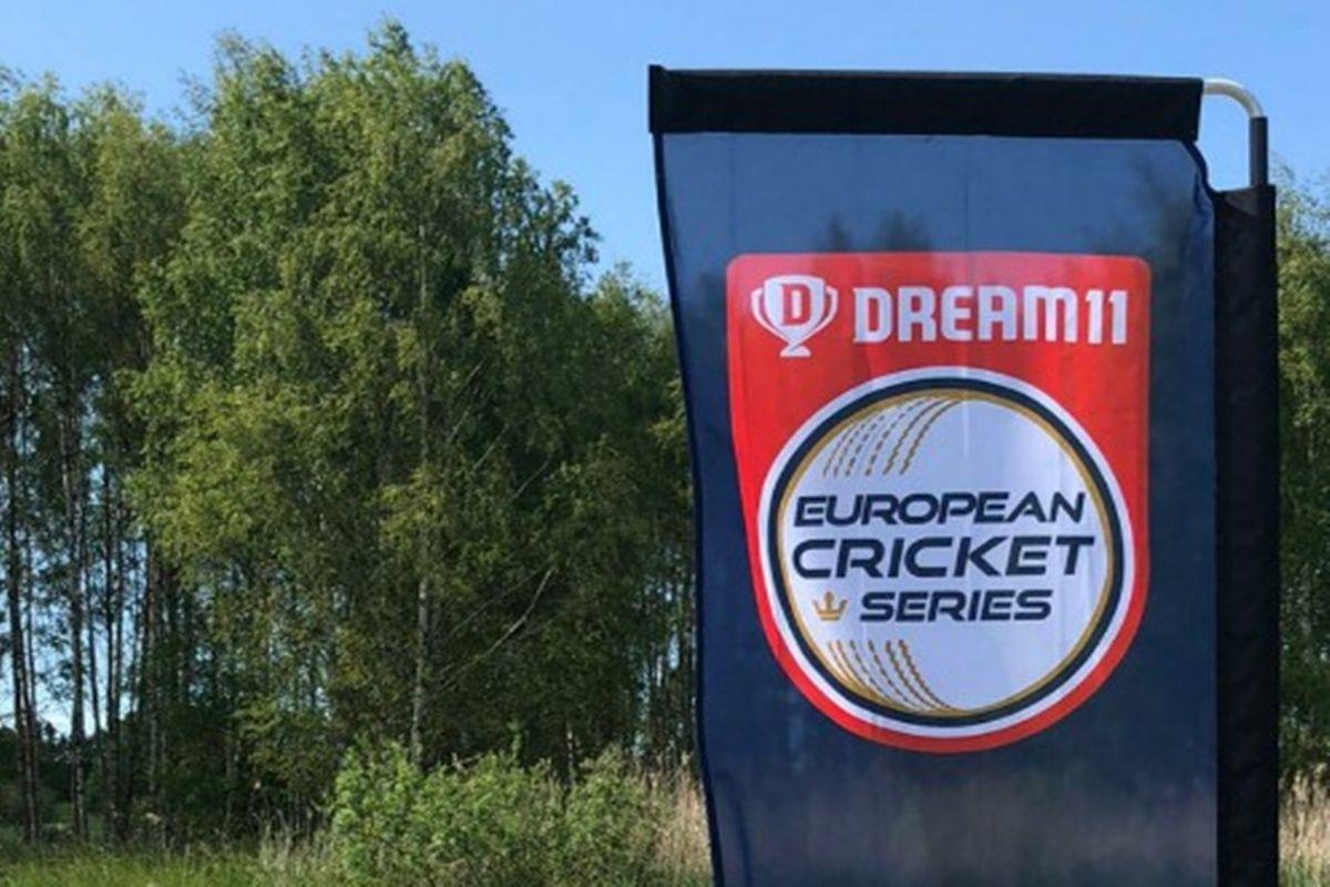European Cricket Series 2020 logo©Twitter.