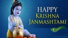 Krishna Janmashtami 2020: Here Are Some Wishes, Messages, Greetings You Can Send on This Day