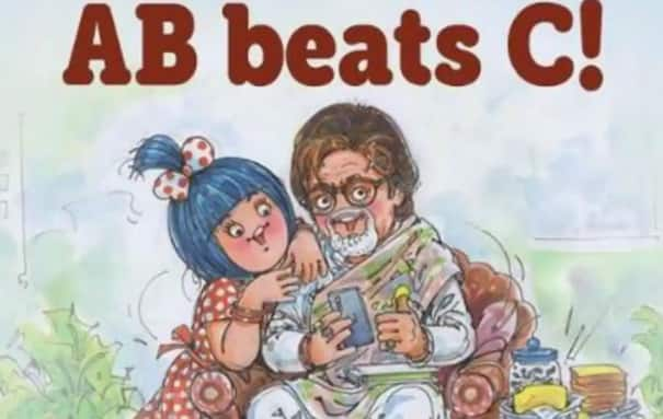 Amitabh Bachchan Shares And Thanks Amul For Dedicating 'AB Beats C' Doodle: Thank You For Continuously Thinking Of Me
