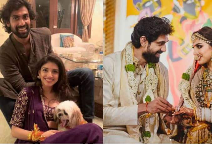 Here's The First Picture of Rana Daggubati And Miheeka Bajaj Post Their Wedding