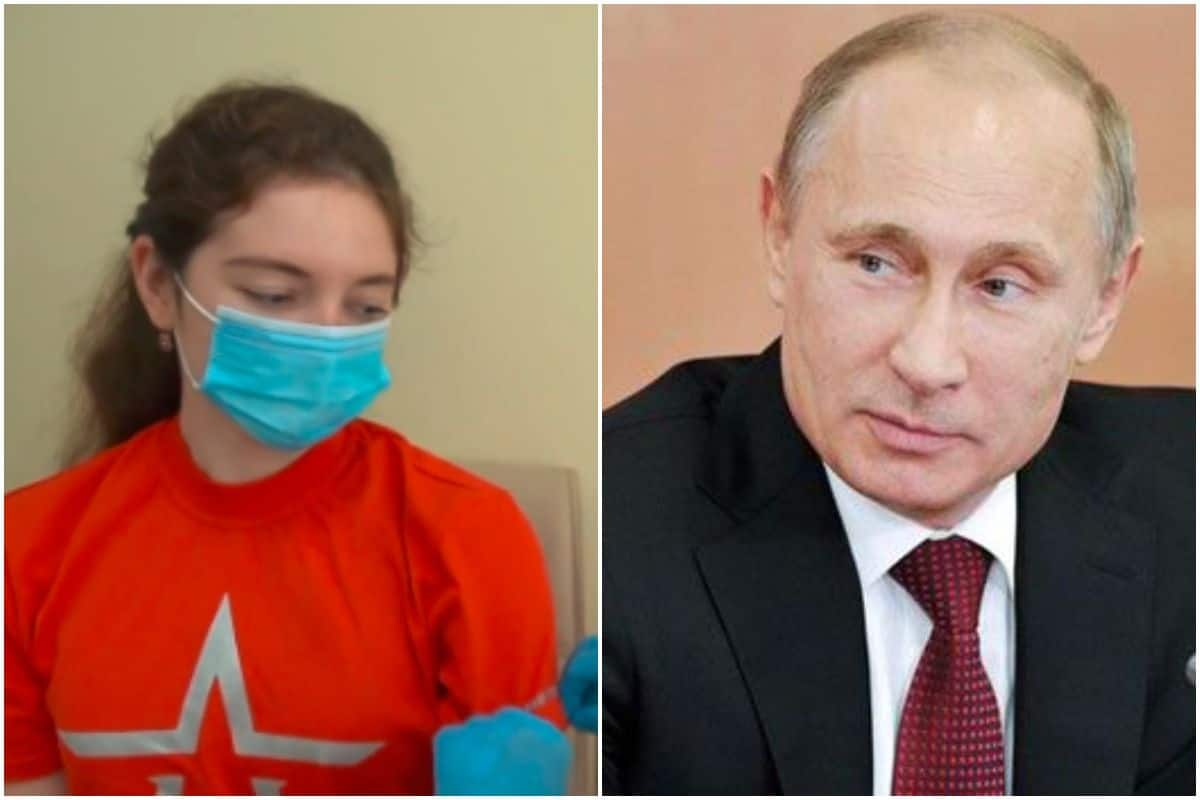 Fake News The Girl Receiving Covid 19 Vaccine In This Viral Video Is Not Vladimir Putin S Daughter India Com