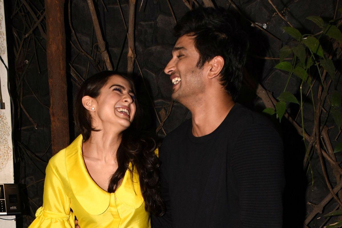 Sara Ali Khan reveals kissing scene with Sushant Singh