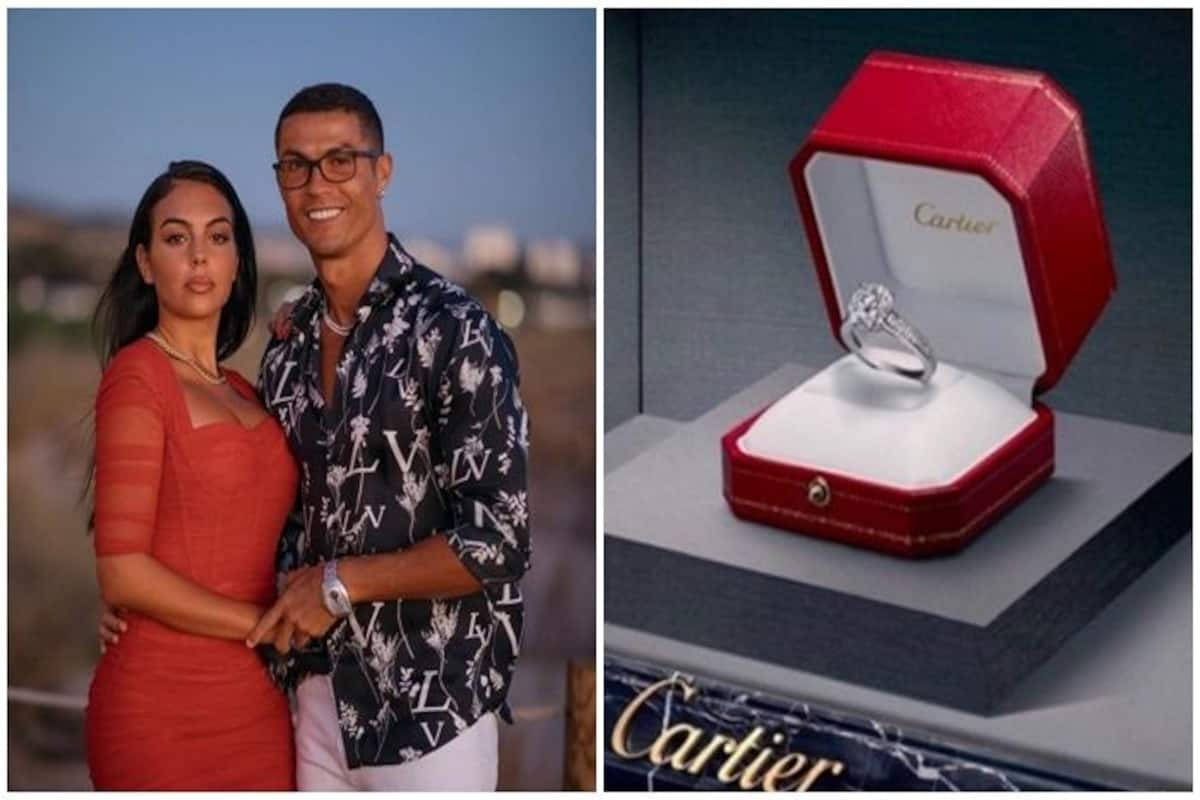 Cristiano Ronaldos 615k Engagement Ring For Georgina Rodriguez Is The Most Expensive For A Wag Here