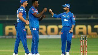 DC vs KXIP IPL 2020 Match Report: Kagiso Rabada, Marcus Stoinis Star as Delhi Capitals Edge Kings XI Punjab in Super Over Thriller