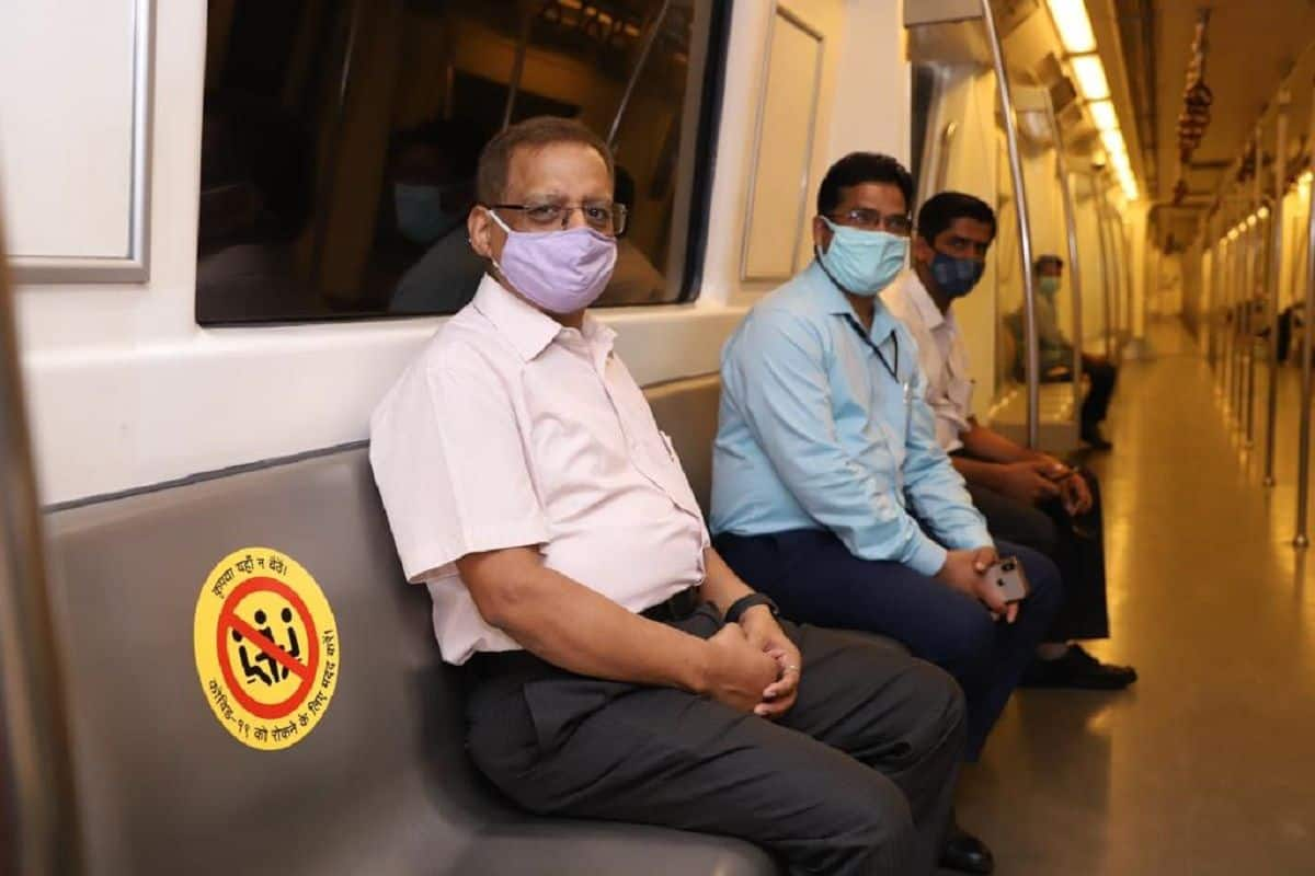 Delhi Metro Adds Red, Green, Violet Lines on Day 4 to Resume Services Across City; 7 Lines Open Now