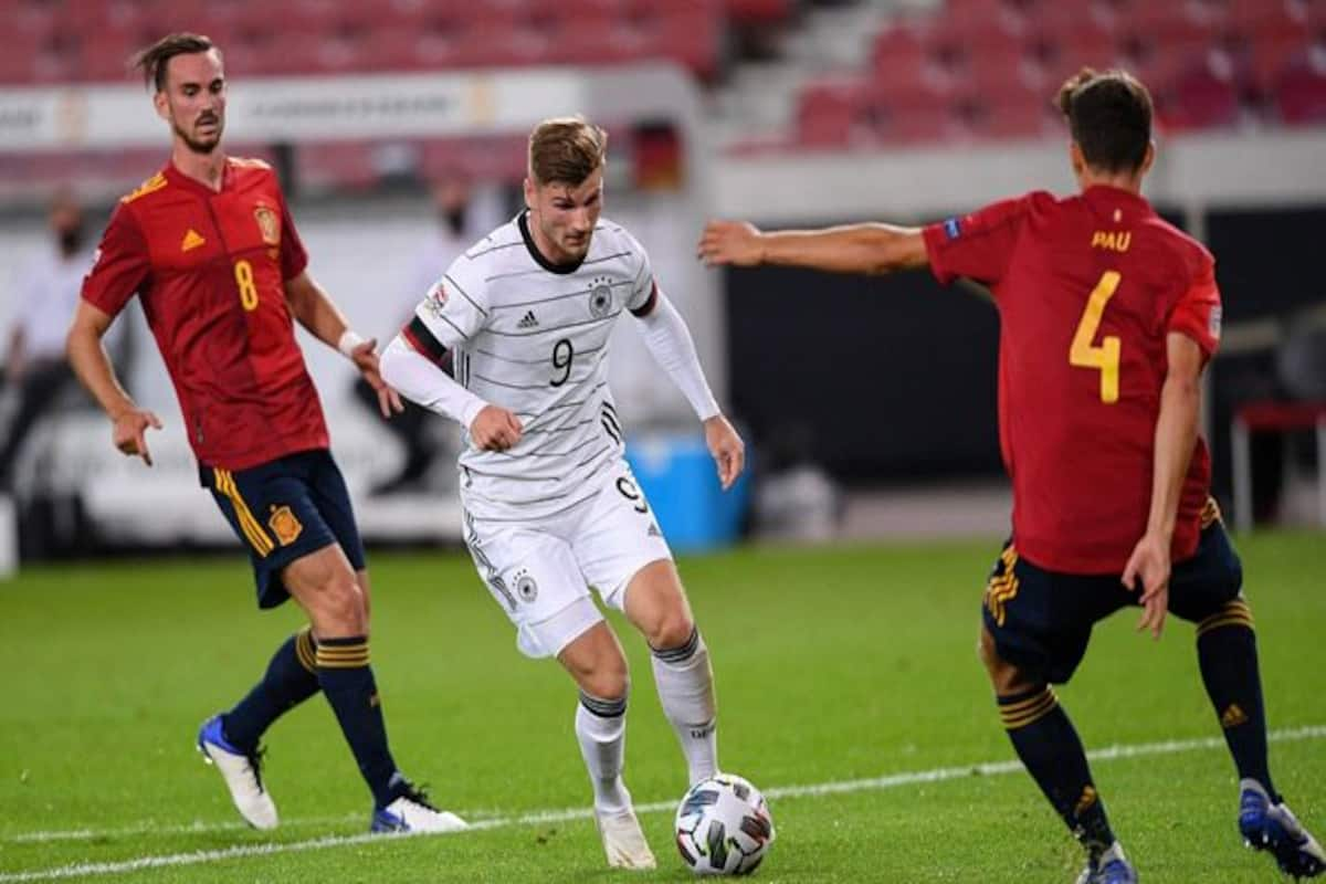 Uefa Nations League Injury Time Equaliser Helps Spain Snatch 1 1 Draw With Germany Football News Nations League Football