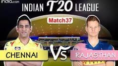 HIGHLIGHTS | IPL 2020, Match 37: Buttler Slams Fifty as Rajasthan Beat Chennai by 7 Wickets