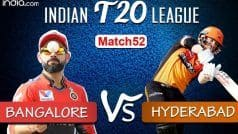 HIGHLIGHTS | IPL 2020, Match 52: Holder's All-Round Show Powers Hyderabad to 5-Wicket Win vs Bangalore