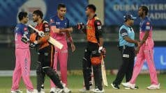 IPL 2020: Pandey, Shankar Hit Unbeaten Half-Centuries as SRH Sail to Eight-Wicket Win