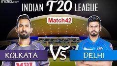 IPL Live Updates: Kolkata Knight Riders vs Delhi Capitals