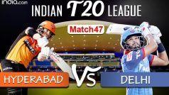 Highlights | Hyderabad Thrash Delhi by 88 Runs to Keep Playoffs Hope Alive