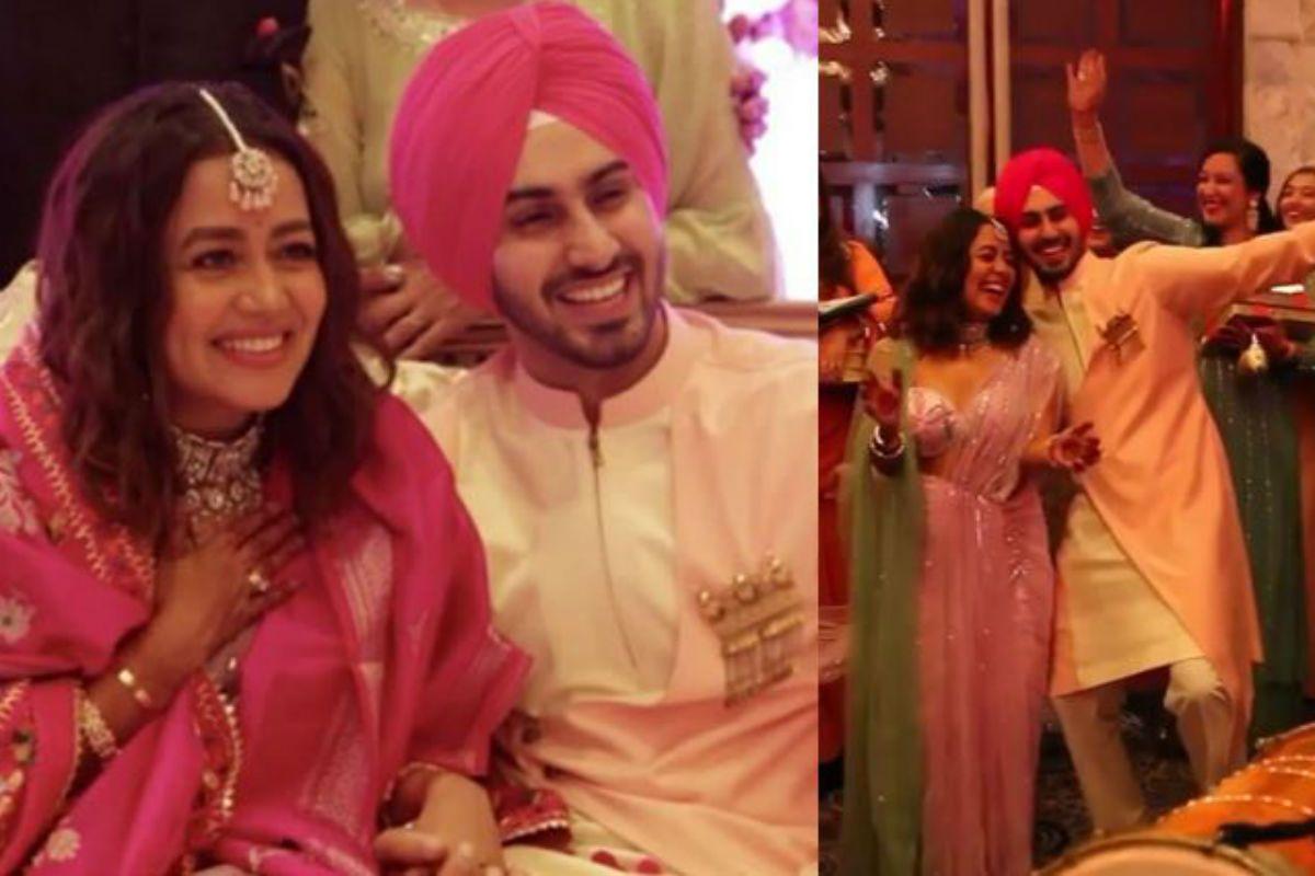 Neha Kakkar Shares Her Roka Ceremony Video With Rohanpreet Singh, Couple Dances to Bhangra Beats