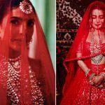 Neha Kakkar's Bridal Look Inspired by Priyanka Chopra's Sabyasachi Wedding Look? See Pics to Decide