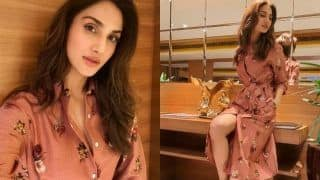 Vaani Kapoor Poses in a Floral Shirt Dress Worth Rs 9k, See PICS