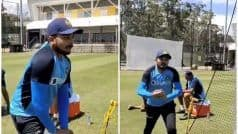 WATCH   Prithvi Shaw Hilariously Imitates Bumrah, Kumble's Bowling Action