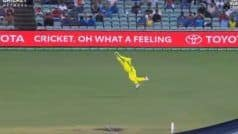 WATCH   Smith Takes a Screamer to Send Iyer Packing