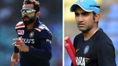 T20 WC: Not Just Kohli Captaining For Last Time, Also About Winning the Tournament, Says Gambhir