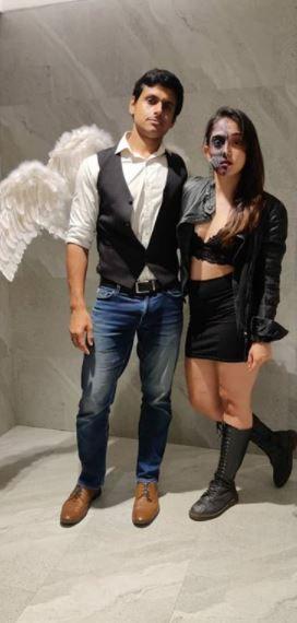 Aamir Khan Daughter Ira Khan Latest Pics in Ghost Scarry avtaar on Halloween 2020 see hot pics